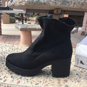 Black booties great for fall/winter